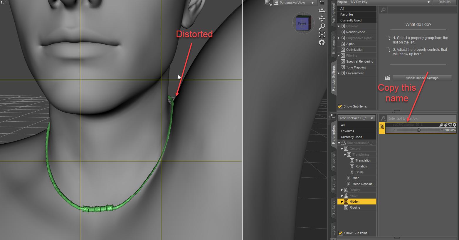 Make symmetrical JCMs for DAZ Studio using ZBrush